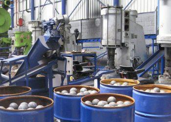 Оборудование для производства стальных шаров