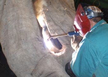 ремонт трещин крупногабаритных деталей без демонтажа